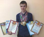 Кобылёнков Михаил, 9 класс