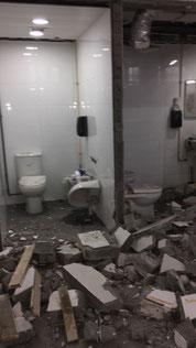 興建本地啤酒廠工程, 食品工場出牌 demolition works HK
