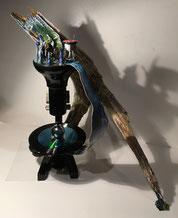 Sabine Giese UPcyclingKUNST; Skulptur: Beschützer
