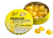 Rescue Pastillen 50 g Zitrone Original Bach Blütenmischung Rescue Notfallmittel