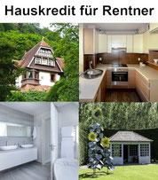 Baufinanzierung und Hauskredit für Rentner und Pensionäre