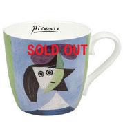 マグカップ(ボーンチャイナ)【KONITZ:コーニッツ】Picasso - Woman with a Hat  オルガ