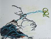 27.5.2012 2012 25 x 32,5 cm Öl / Papier