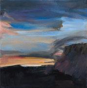 tramontana 3 2015 30 x 30 cm Öl / Leinwand