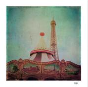 """Bohemia of Paris"" Fine Art Print"
