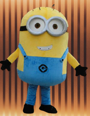 location Mascotte Minion
