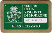 Velluto Duca Visconti di Modrone pantaloni
