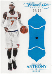 CARMELO ANTHONY / Sapphire - No. 45  (#d 4/10)