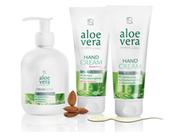 Savon Crème Aloe Vera, crème soin des mains à l'aloe vera LR