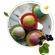 zuckerfreie Biscuittörtchen, Biscuittörtchen ohne Zucker, Biscuittortenrezept, zuckerfreie Rezepte für Buiscuittörtchen, zuckerfreier Kuchen