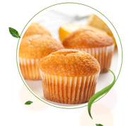 zuckerfreie ZItronenmuffins, Muffins ohne Zucker, Muffinrezept, zuckerfreie Rezepte für Muffins