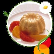 zuckerfreier Orangenpudding ohne Zucker, zuckerfreies rezept, Dessert ohne Zucker, zuckerfreies Dessert, Rezept ohne Zucker, Puddingrezept ohne Zucker