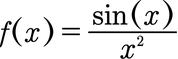 Weitere Funktion, welche aus zwei Funktionen besteht, die durcheinander geteilt werden