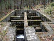 Depósito desarenador de la Sierra de Guadarrama