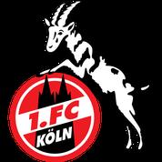 1 FC Köln Logo Fußball