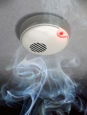 Alarmanlage mit Rauchmelder