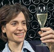 Françoise Antech-Gazeau im Familienbetrieb des Weinguts.