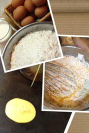 手作りホットケーキ