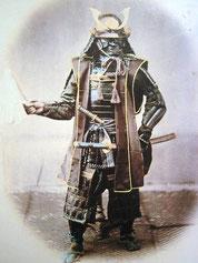 Samurai en armure (complète) 1860