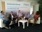 vlnr: Pöllet, Pschierer, Bauer, Emmer, Gröschel m. Partnerin