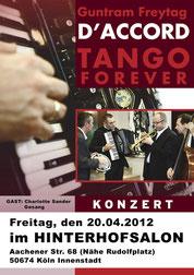 "Guntram Freytag: D'ACCORD. ""Tango"" mit Charlotte Sander"