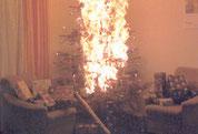 So sollte ein Weihnachtsabend nicht enden...