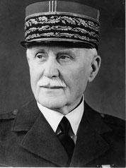 Maréchal Pétain (1856-1951)