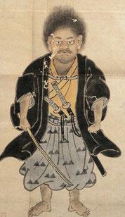 13歳の宮本武蔵肖像画