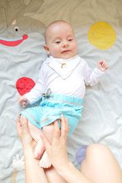 Baby Yoga für Mütter und Babys im Workshop