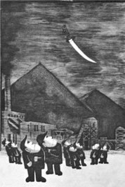 「黒ダイヤ始末記」20 回展(1967)