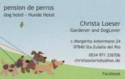 Christa Loeser Hunde Hotel