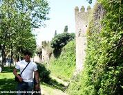 пешеходные экскурсии - крепостные стены барселоны