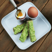 Eggs & Avocado Soldiers