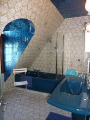 La salle de bains vintage Ô Clair de la Lune