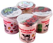 Les yaourts aux fruits de la Ferme Durr Biolacte