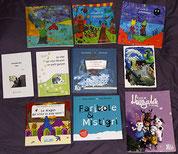 Les livres jeunesse et adultes de l'illustratrice et auteur Cloé Perrotin