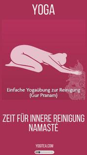 Einfache Yogaübung zur Reinigung  yogitea.com