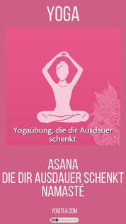 Yogaübung, die dir Ausdauer schenkt yogitea.com