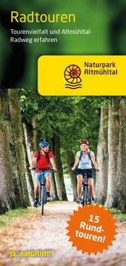 Radtouren-Karte Naturpark Altmühltal