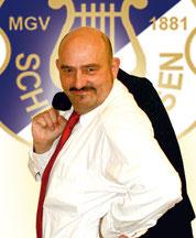Peter Henze, 2. Kassenwart MGV Schledehausen, Fan vom Halleschen FC