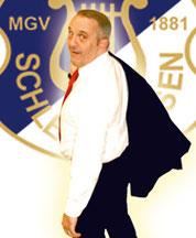 Jost Bosse, 2. Schriftführer MGV Schledehausen, Fan vom VfL Osnabrück
