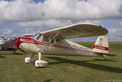 A participant of the Classic Cessna-Meeting
