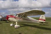 Een deelnemer van de Classic Cessna-Meeting