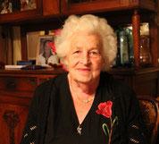Aline LIEBY, 90 ans le 22 août 2015