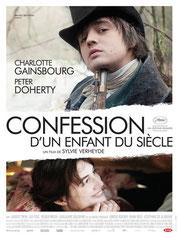 Film Plakat - Confessions mit Charlotte Gainsbourg und Pete Doherty