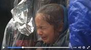 Video von einem Polizeieinsatz an der Mazedonischen Grenze