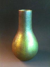 Zsolnay Hammered Vase