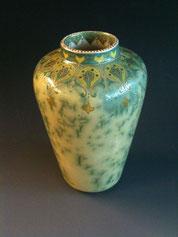 Zsolnay Crystal Vase, 1904