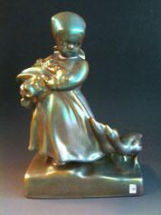 Zsolnay Figurine