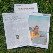 """Mit Präsidentin Tanja Gratzer bei """"Werte in der Kommunikation"""""""